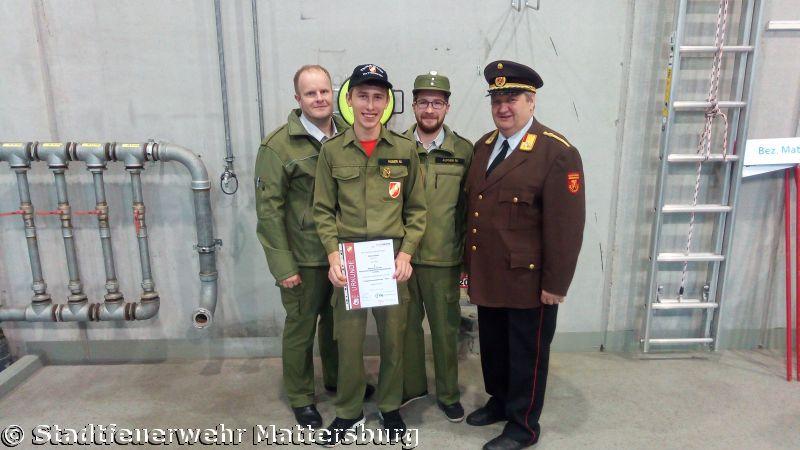 Feuerwehrjugendleistungsabzeichen in Gold 2017