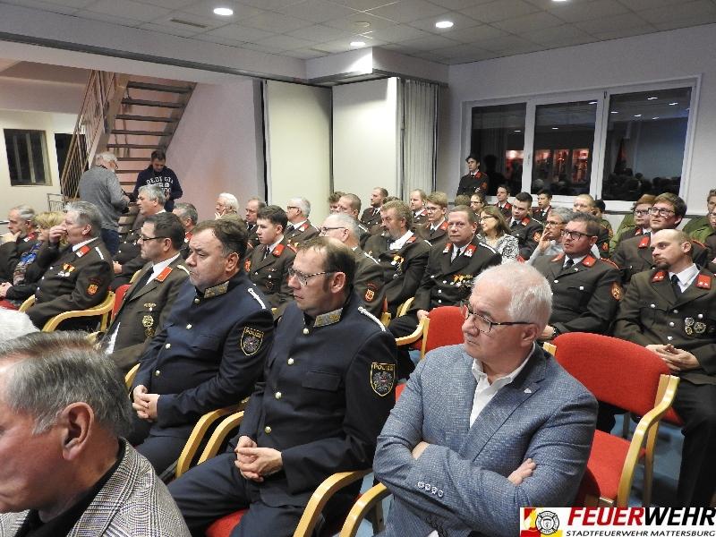 144. Jahreshauptdienstbesprechung der FF Mattersburg