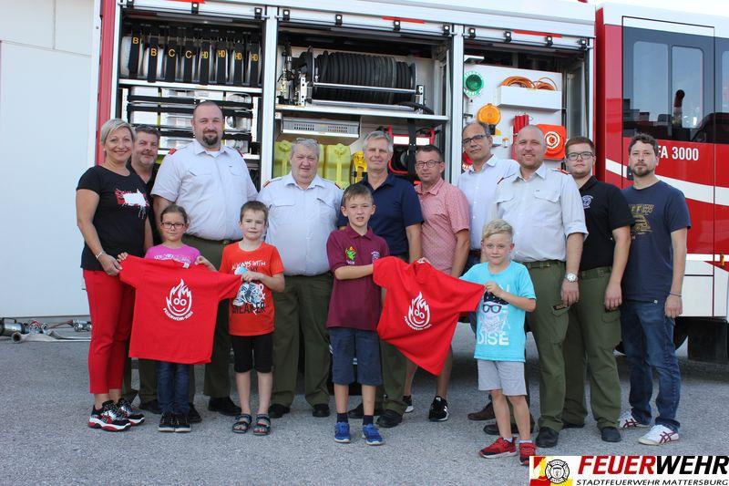 Geburtsstunde der Feuerwehr-Kids in Mattersburg