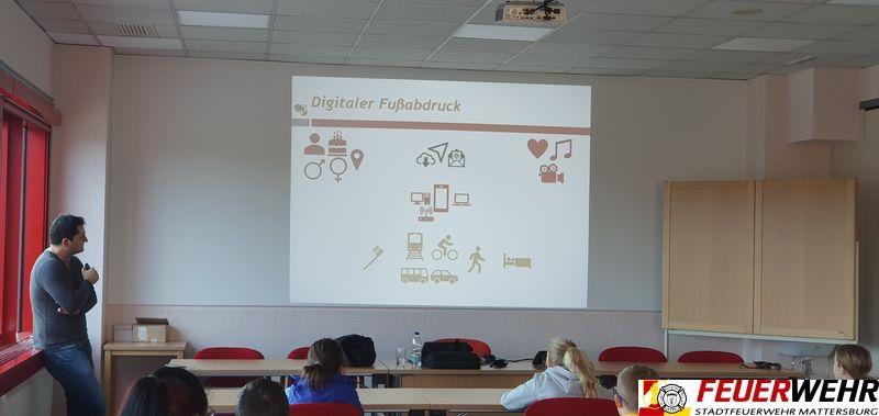 Safer Internet-Workshop für die Feuerwehrjugend Mattersburg