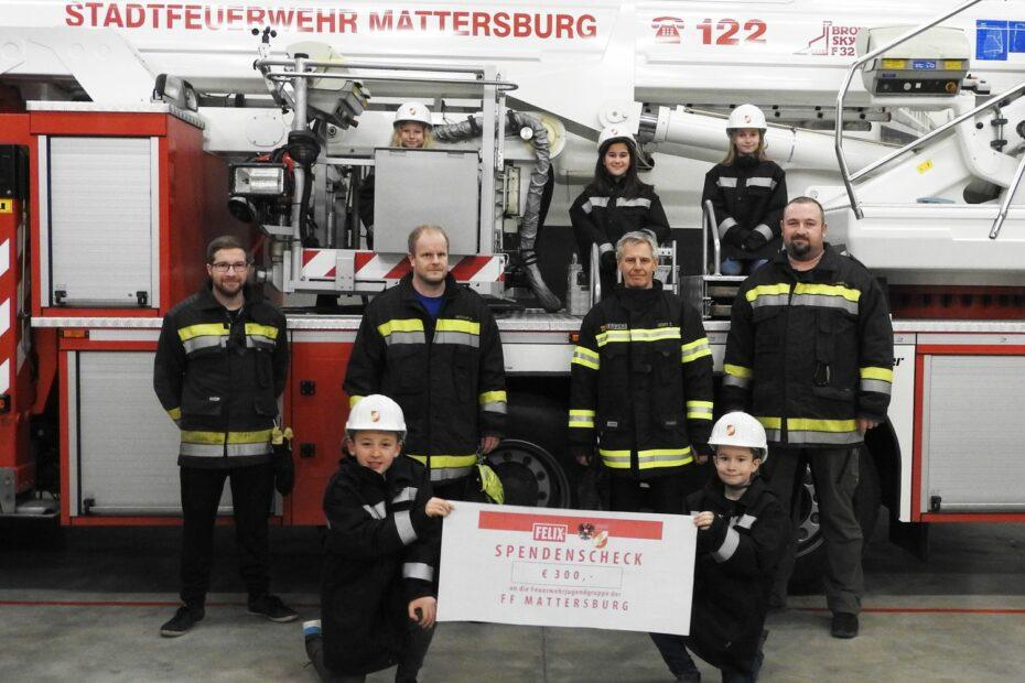 FELIX Austria und der ÖBFV unterstützen die Feuerwehrjugend