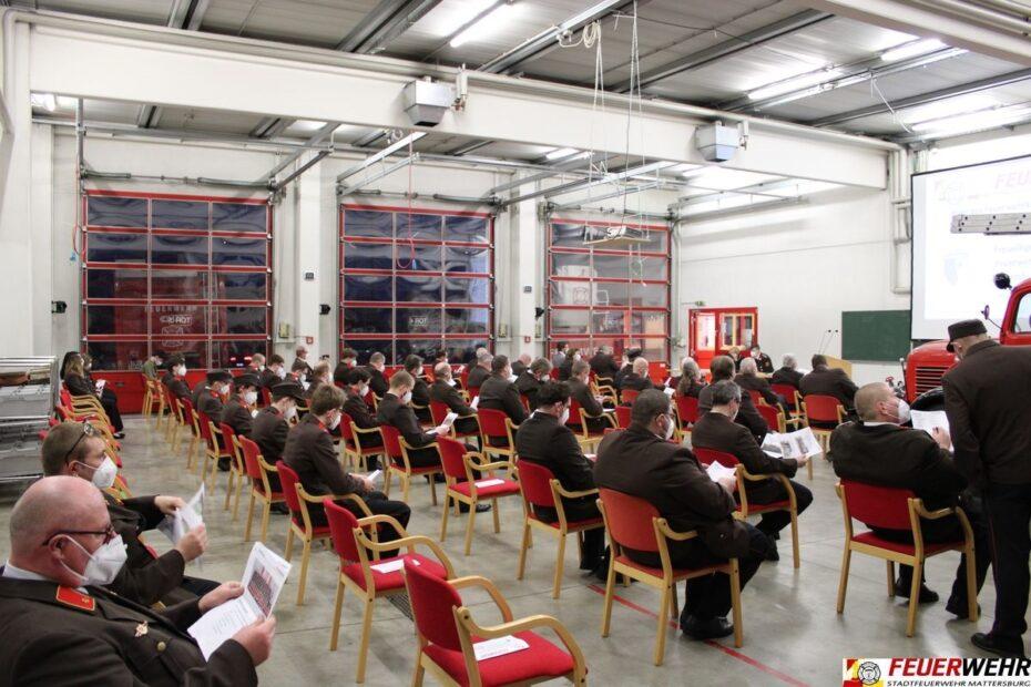 146. Jahreshauptdienstbesprechung und erste Wahl in Mattersburg